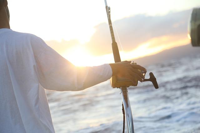fishing ocean