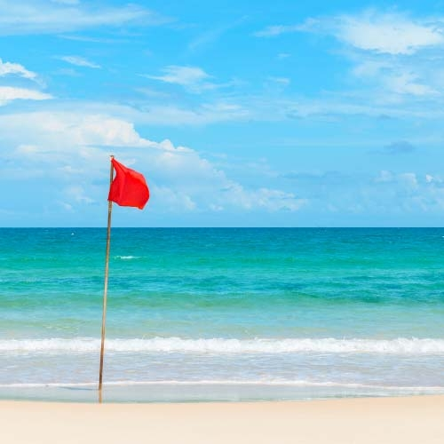 rip current red flag