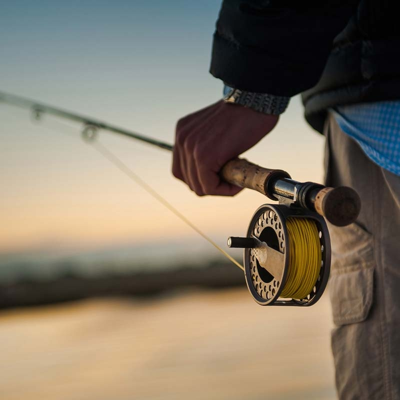 saltwater fishing rod and reel