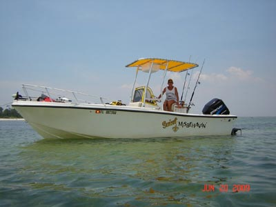 fishmaster t-top on 1984 mako