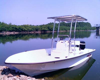 t-top on kenner police boat