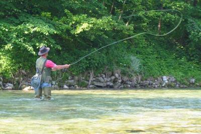 Learning to Cast - Fly Fishing Basics
