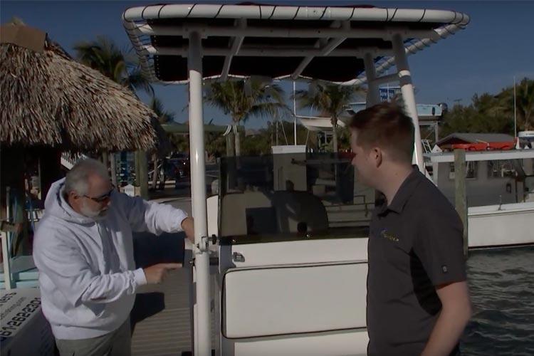 Ship Shape TV Spotlights Fishmaster Pro Series T-Top