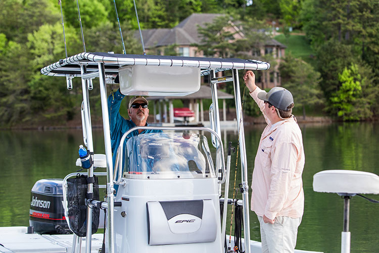 Three Accessories that Improve Your Fishing Boat